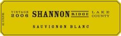 Shannon Ridge Sauvignon Blanc