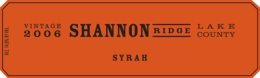 Shannon Ridge Syrah